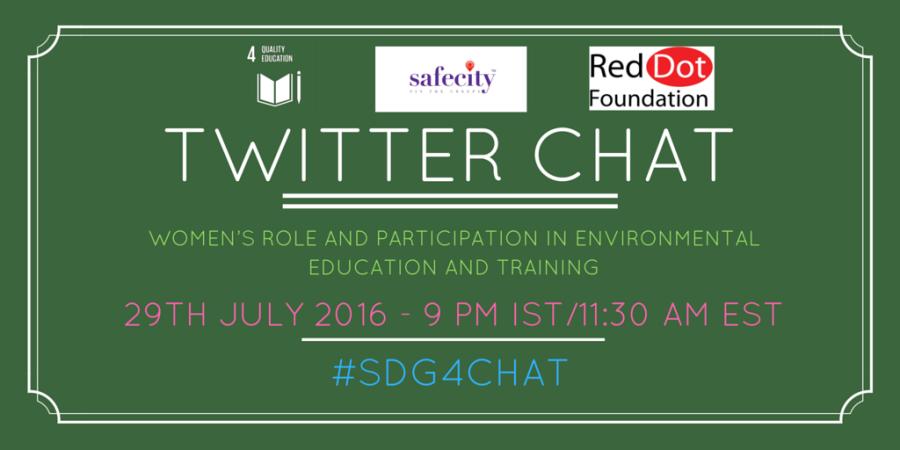 Twitter chat SDG4